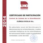 El proceso de esterilización de nuestro instrumental, pilar de nuestra calidad asistencial, también está certificado. El control corre cargo del Departamento de Microbiología Oral de la Universidad de Oviedo, que también testa los equipos de esterilización.