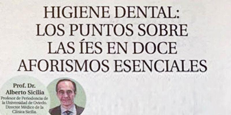 Artículo en periódico Dr. Sicilia